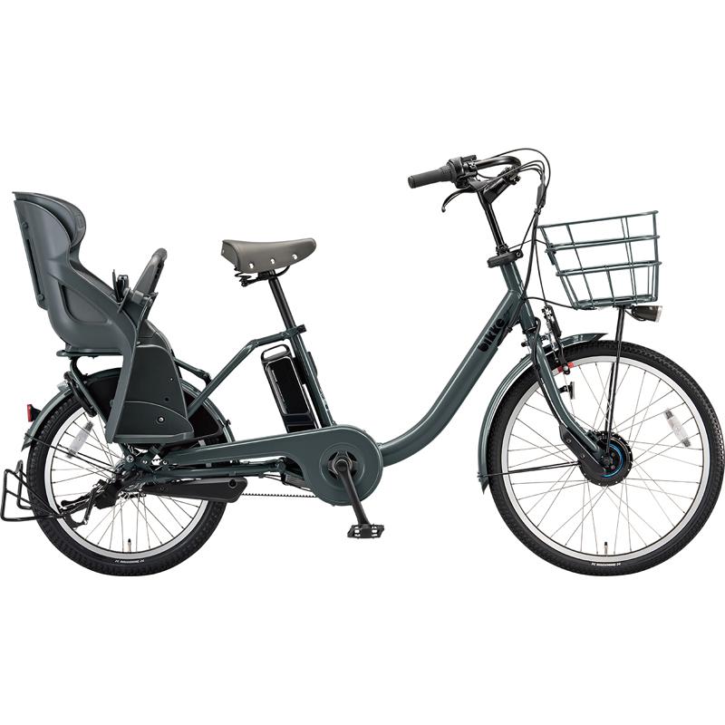【防犯登録サービス中】ブリヂストン 電動自転車 ビッケモブdd BM0B49 E.XBKダークグレー 【2019年モデル】【完全組立済自転車】
