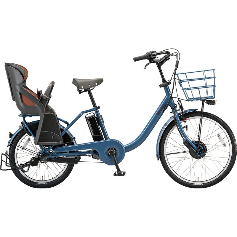【防犯登録サービス中】ブリヂストン 電動自転車 ビッケモブdd BM0B49 E.Xネイビーグレー 【2019年モデル】【完全組立済自転車】