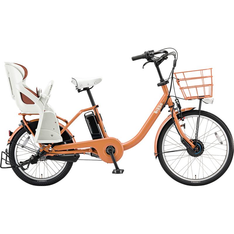 【防犯登録サービス中】ブリヂストン 電動自転車 ビッケモブdd BM0B49 E.Xオークルオレンジ 【2019年モデル】【完全組立済自転車】