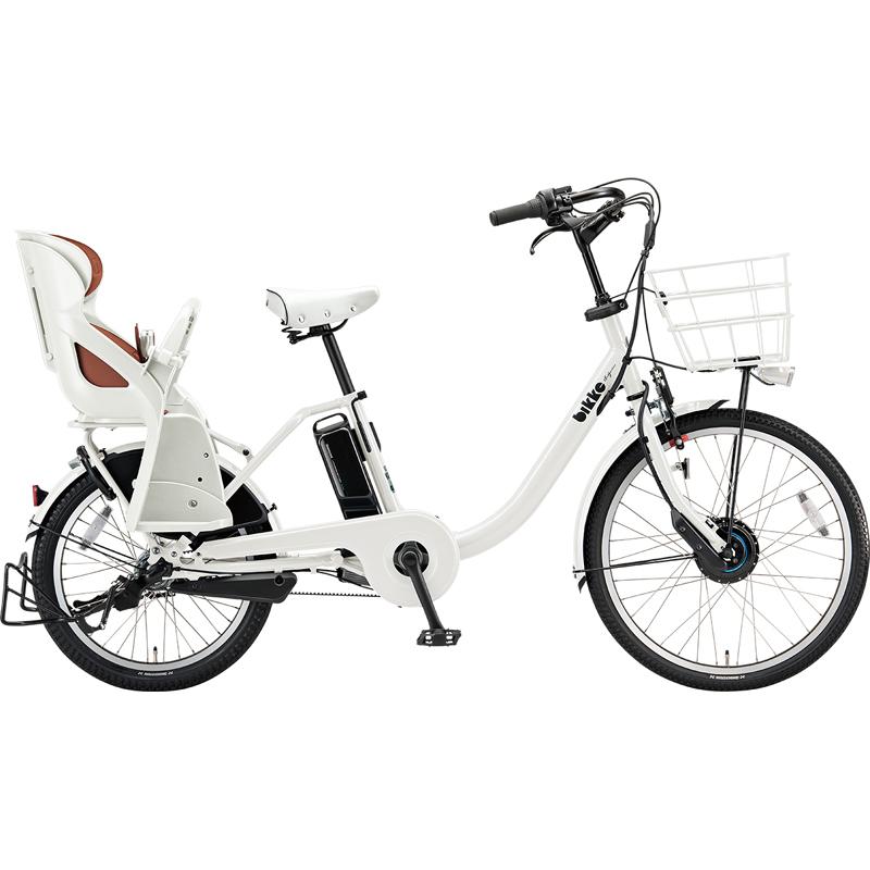 【防犯登録サービス中】ブリヂストン 電動自転車 ビッケモブdd BM0B49 E.XBKホワイト 【2019年モデル】【完全組立済自転車】