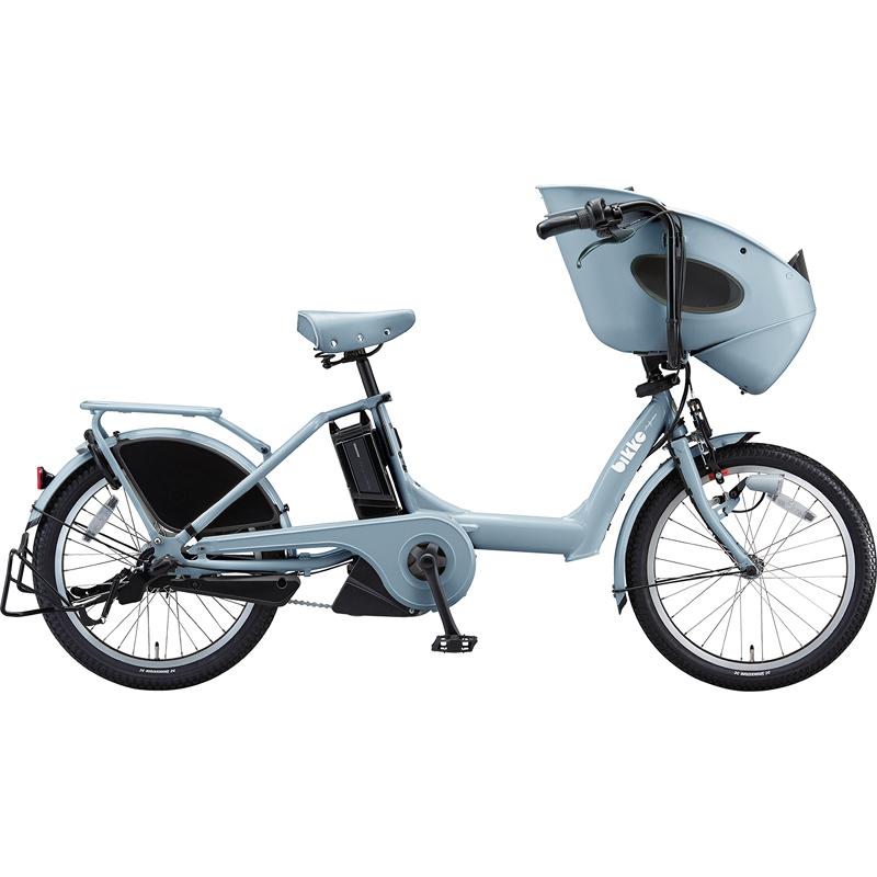 【防犯登録サービス中】ブリヂストン 電動自転車 ビッケポーラーe BR0C49 E.BKブルーグレー 【2019年モデル】【完全組立済自転車】