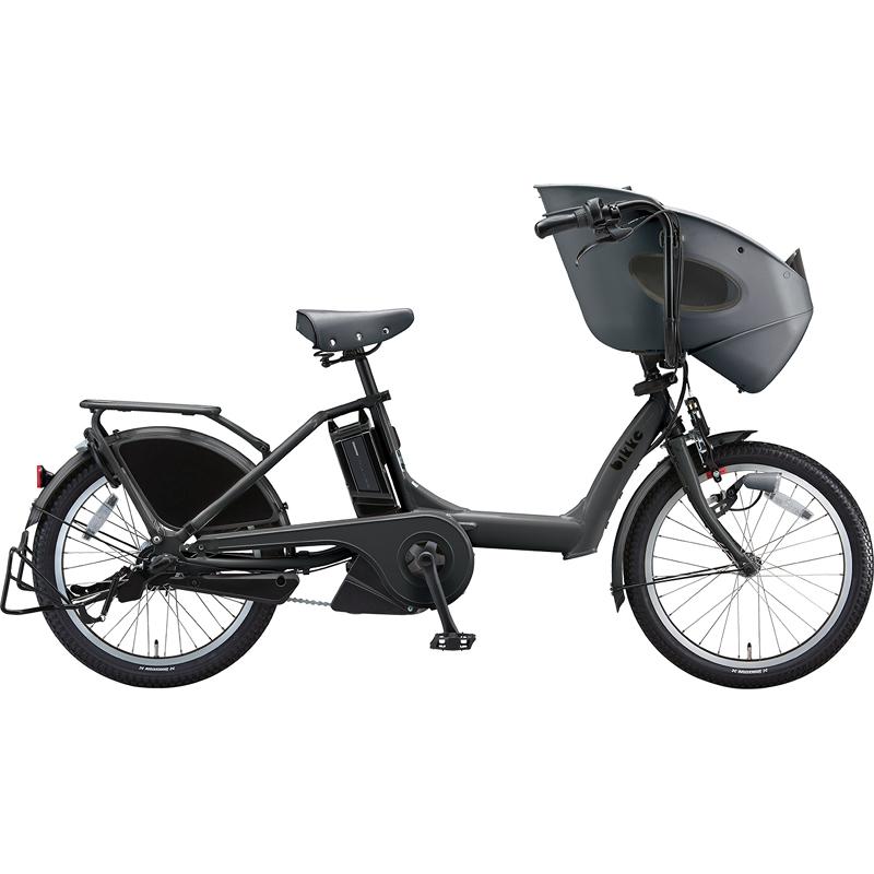 ブリヂストン 電動自転車 ビッケポーラーe BR0C49 E.BKダークグレー 【2019年モデル】【完全組立済自転車】