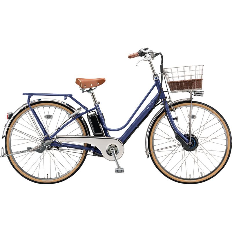 【防犯登録サービス中】ブリヂストン 電動自転車 カジュナe CB6B49 E.Xアメリカンブルー 【2019年モデル】【完全組立済自転車】
