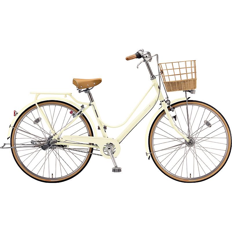 【防犯登録サービス中】ブリヂストン シティサイクル自転車 カジュナスイートライン(チェーン) CS7TP E.Xエッグシェルベージュ 【2019年モデル】【完全組立済自転車】