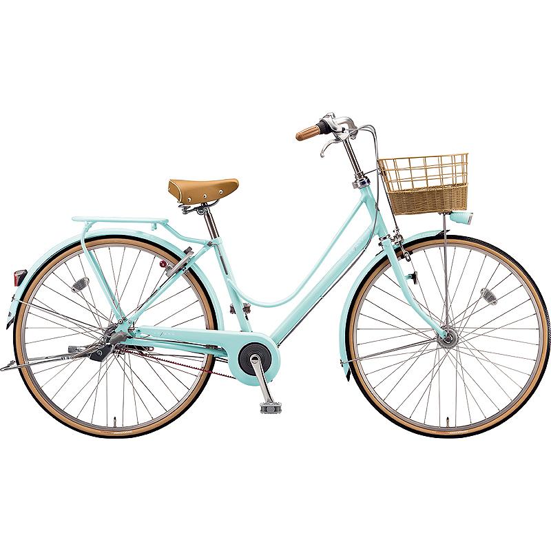 ブリヂストン シティサイクル自転車 カジュナスイートライン CS7TP E.Xミストグリーン 【2019年モデル】【完全組立済自転車】