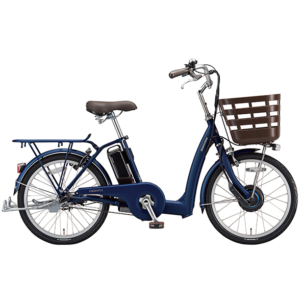 【防犯登録サービス中】ブリヂストン 電動自転車 フロンティアラクット FK4B49 T.Xサファイヤブルー 【2019年モデル】【完全組立済自転車】