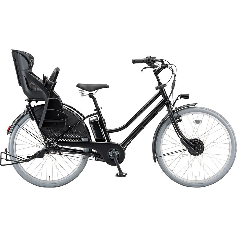 【防犯登録サービス中】ブリヂストン 電動自転車 ハイディツー HC6B49 T.Xクロツヤケシ 【2019年モデル】【完全組立済自転車】