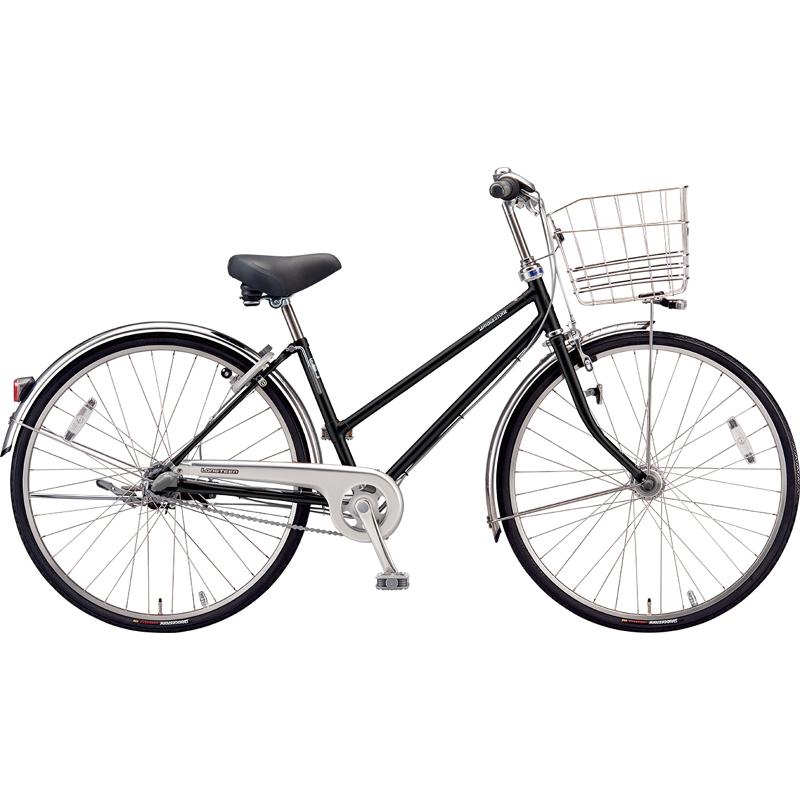 ブリヂストン シティサイクル自転車 ロングティーンDX LT6STP P.Xクリスタルブラック 【2019年モデル】【完全組立済自転車】