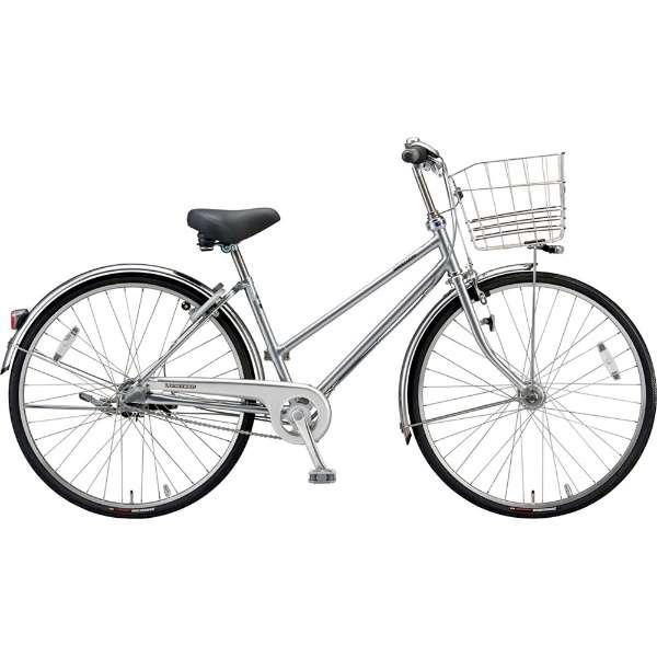 ブリヂストン シティサイクル自転車 ロングティーンDX LT6STP M.XRシルバー 【2019年モデル】【完全組立済自転車】