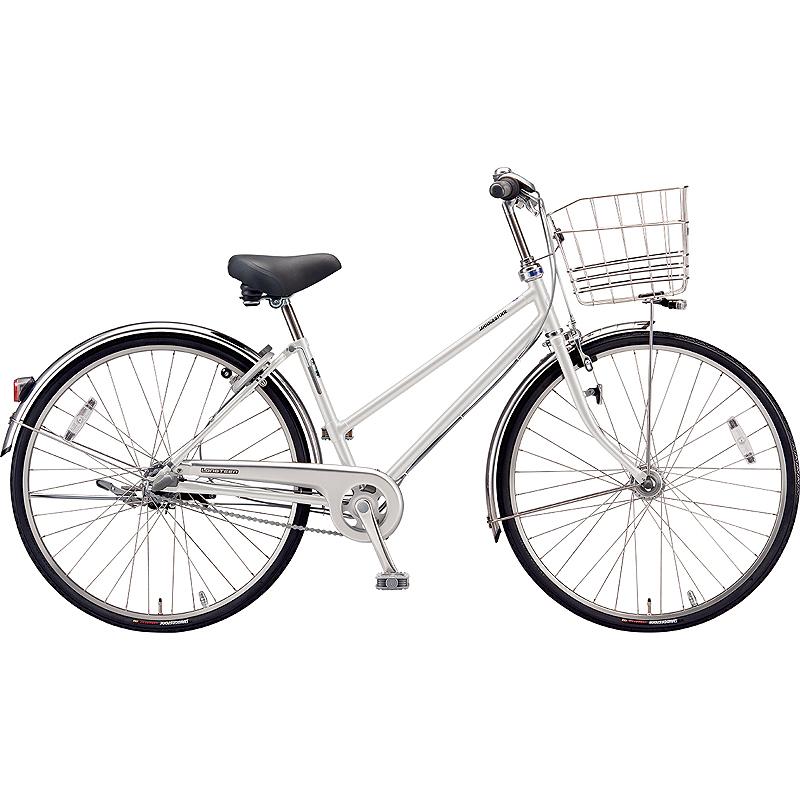 【防犯登録サービス中】ブリヂストン シティサイクル自転車 ロングティーンDX LT6STP P.Xスノーホワイト 【2019年モデル】【完全組立済自転車】