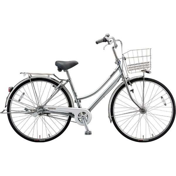 【防犯登録サービス中】ブリヂストン シティサイクル自転車 ロングティーンベルト LT73LB M.XHスパークルシルバー 【2019年モデル】【完全組立済自転車】
