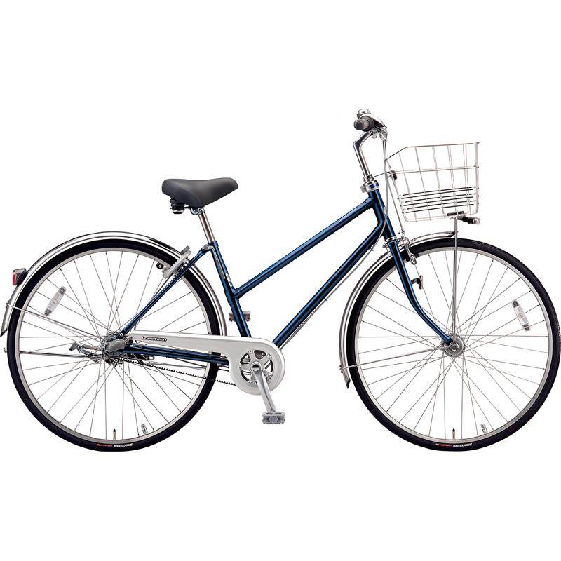 ブリヂストン シティサイクル自転車 ロングティーンベルト LT73SB P.Xサファイヤブルー 【2019年モデル】【完全組立済自転車】