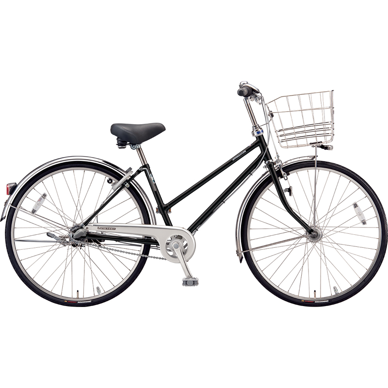 ブリヂストン シティサイクル自転車 ロングティーンDX LT7STP P.Xクリスタルブラック 【2019年モデル】【完全組立済自転車】
