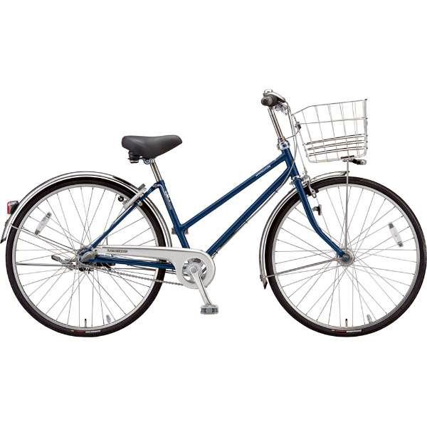 【防犯登録サービス中】ブリヂストン シティサイクル自転車 ロングティーンDX LT7STP P.Xサファイヤブルー 【2019年モデル】【完全組立済自転車】