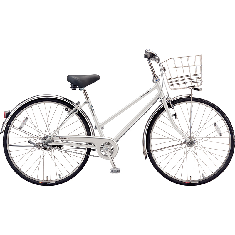 ブリヂストン シティサイクル自転車 ロングティーンDX LT7STP P.Xスノーホワイト 【2019年モデル】【完全組立済自転車】