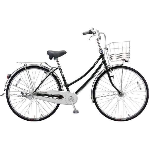 ブリヂストン シティサイクル自転車 ロングティーンDX LT7WTP P.Xクリスタルブラック 【2019年モデル】【完全組立済自転車】