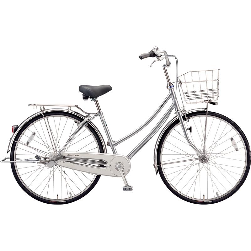 【防犯登録サービス中】ブリヂストン シティサイクル自転車 ロングティーンDX LT7WTP M.XRシルバー 【2019年モデル】【完全組立済自転車】