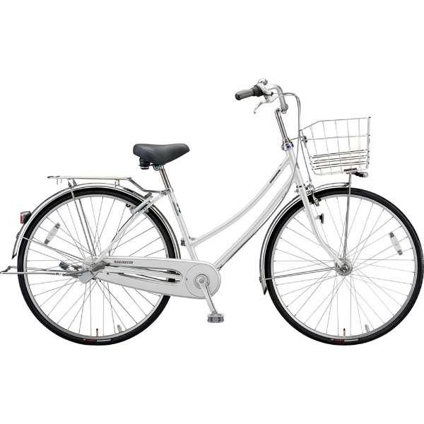 ブリヂストン シティサイクル自転車 ロングティーンDX LT7WTP P.Xスノーホワイト 【2019年モデル】【完全組立済自転車】