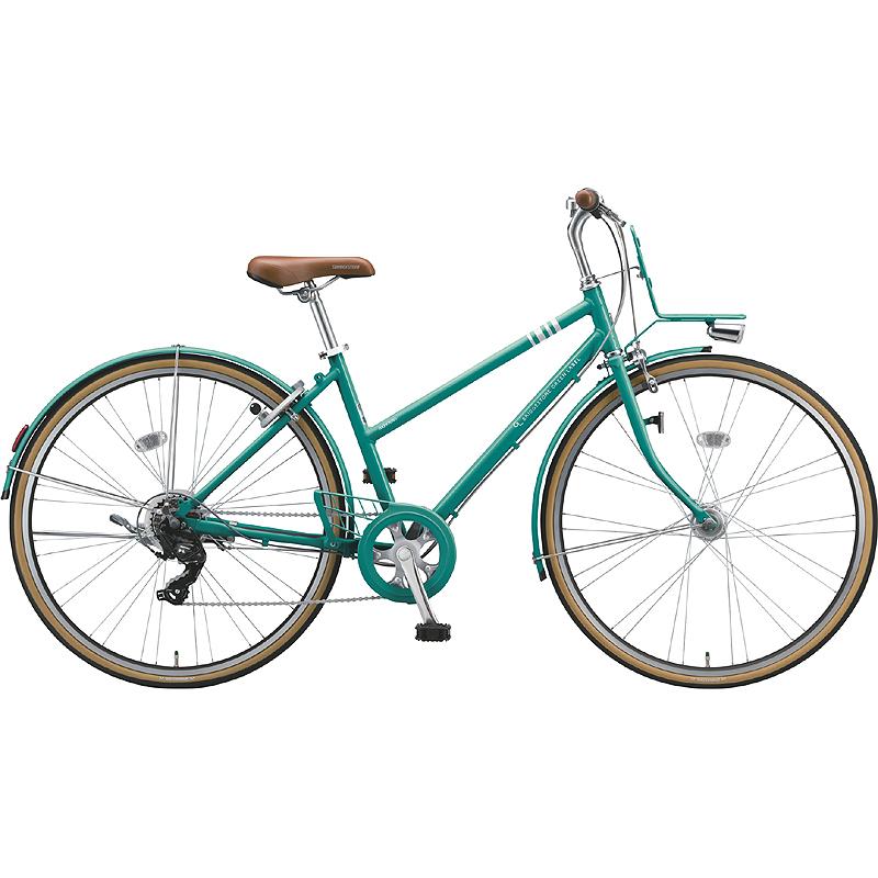 ブリヂストン シティサイクル自転車 マークローザ7S MR67ST EXCBTグリ-ン 【2019年モデル】【完全組立済自転車】