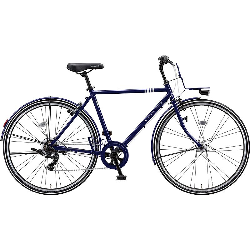 ブリヂストン シティサイクル自転車 マークローザ7H MR77HT E.XNBネイビ- 【2019年モデル】【完全組立済自転車】