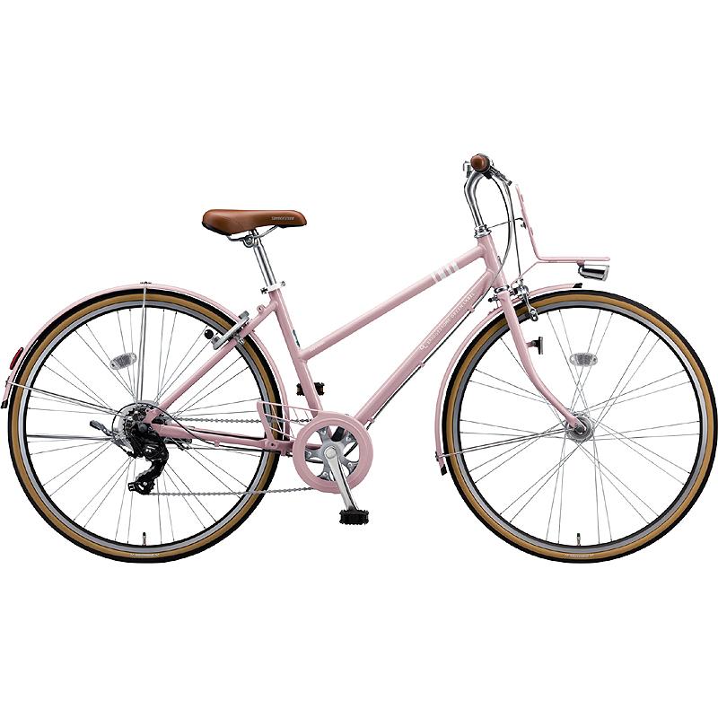 【防犯登録サービス中】ブリヂストン シティサイクル自転車 マークローザ7S MR77ST EXサンドピンク 【2019年モデル】【完全組立済自転車】