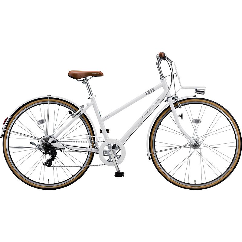 ブリヂストン シティサイクル自転車 マークローザ7S MR77ST P.Xスノ-ホワイト 【2019年モデル】【完全組立済自転車】