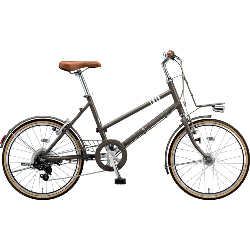 ブリヂストン ミニベロ マークローザ MRK07T T.Xカーキ 【2019年モデル】【完全組立済自転車】