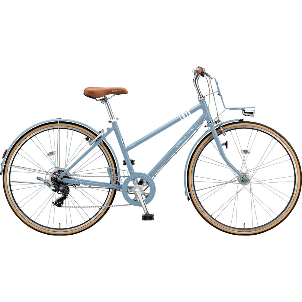 ブリヂストン クロスバイク マークローザ MRK67T TXマットブルーグレー 【2019年モデル】【完全組立済自転車】