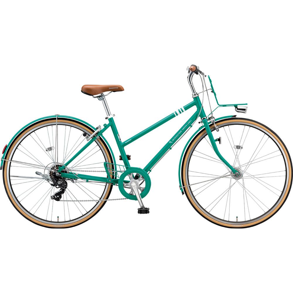 ブリヂストン クロスバイク マークローザ MRK77T EXコバルトグリーン 【2019年モデル】【完全組立済自転車】