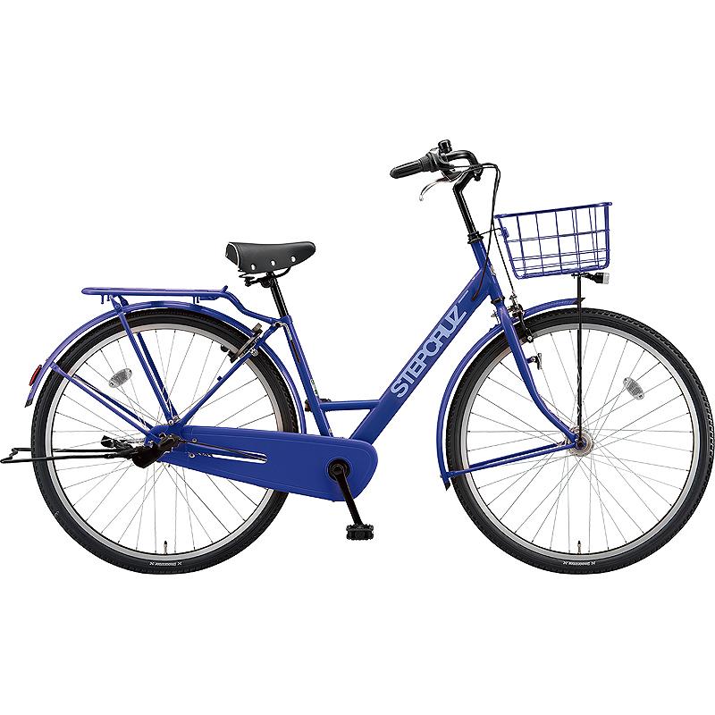 【防犯登録サービス中】ブリヂストン シティサイクル自転車 ステップクルーズ SC63T E.Xバイオレットブルー 【2019年モデル】【完全組立済自転車】