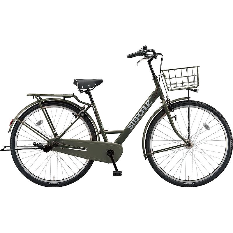 【防犯登録サービス中】ブリヂストン シティサイクル自転車 ステップクルーズ SC63T T.Xマットカーキ 【2019年モデル】【完全組立済自転車】