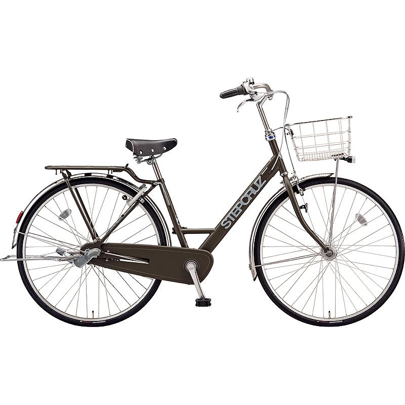 ブリヂストン シティサイクル自転車 ステップクルーズDX SC7TP T.Xマットカーキ 【2019年モデル】【完全組立済自転車】