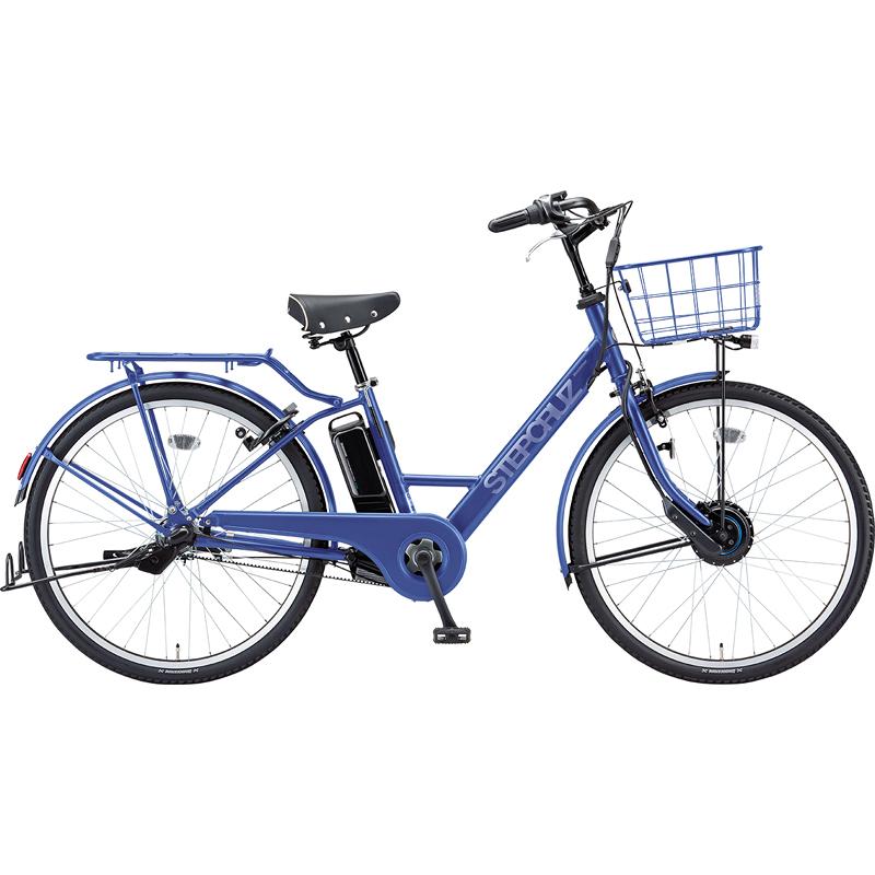 【防犯登録サービス中】ブリヂストン 電動自転車 ステップクルーズe ST6B49 E.Xバイオレットブルー 【2019年モデル】【完全組立済自転車】