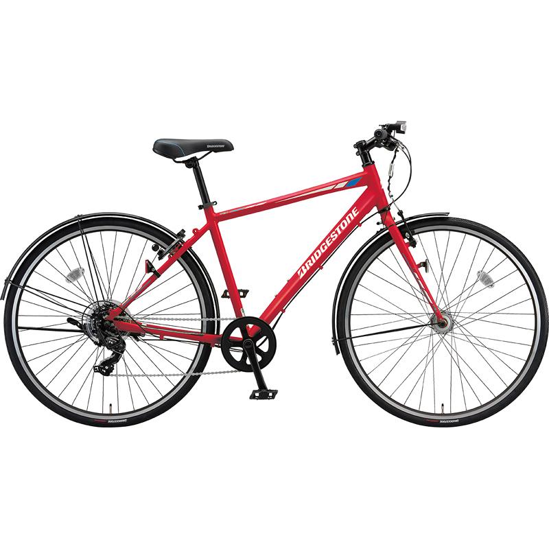 【防犯登録サービス中】ブリヂストン シティサイクル自転車 TB1 TB42 F.Xピュアレッド 【2019年モデル】【完全組立済自転車】