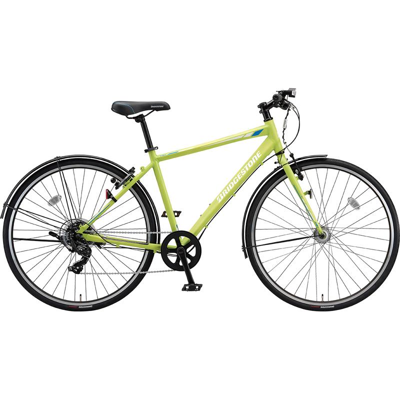 【防犯登録サービス中】ブリヂストン シティサイクル自転車 TB1 TB48 T.Xネオンライム 【2019年モデル】【完全組立済自転車】