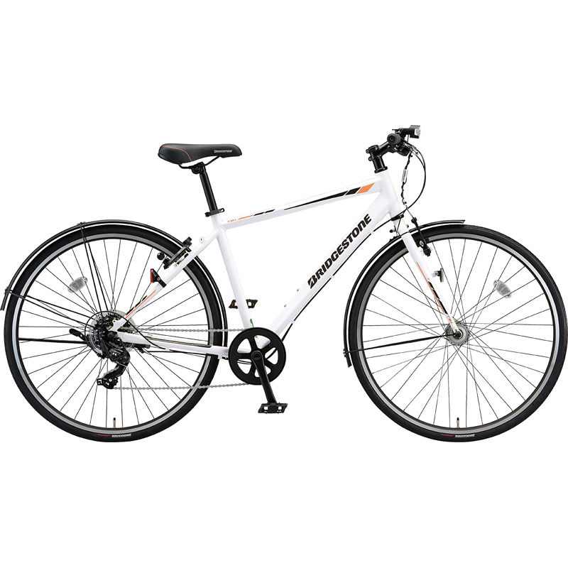 【防犯登録サービス中】ブリヂストン シティサイクル自転車 TB1 TB48 P.Xスノーホワイト 【2019年モデル】【完全組立済自転車】