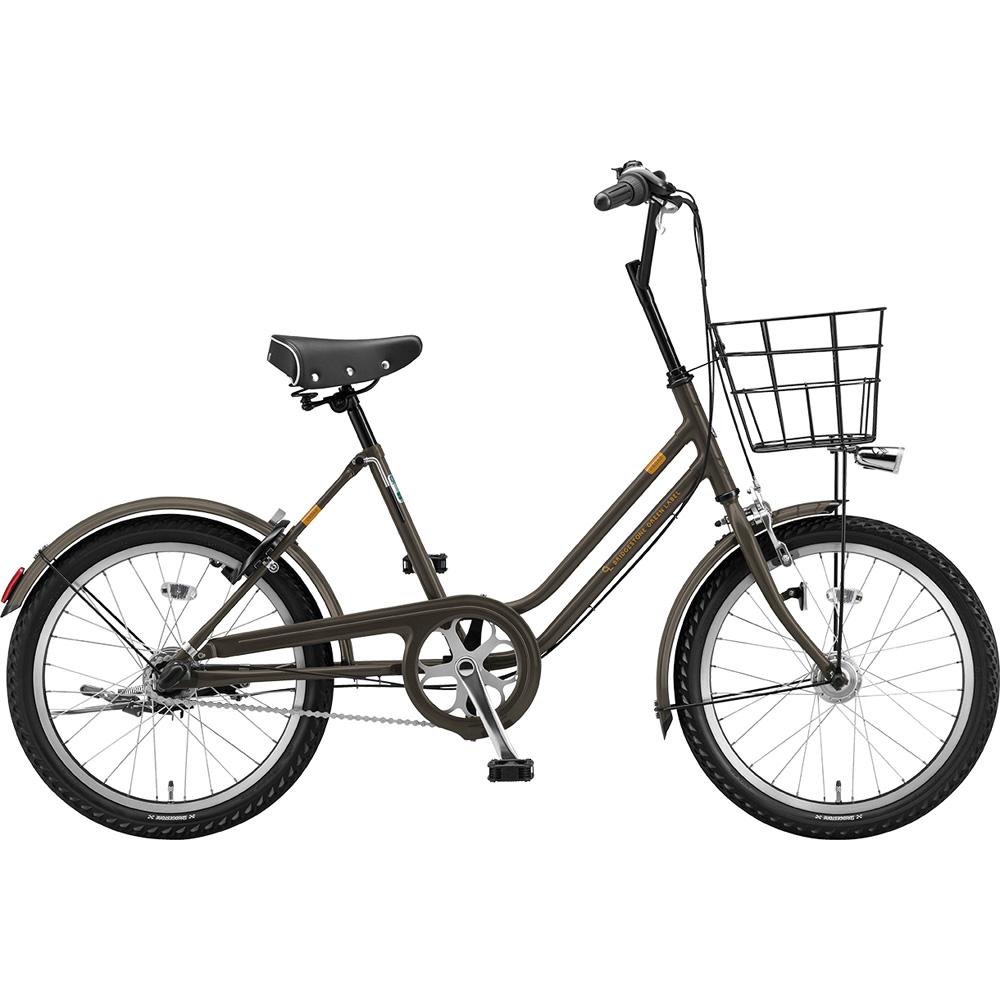 ブリヂストン ミニベロ ベガス VEG03T T.Xカーキ 【2019年モデル】【完全組立済自転車】