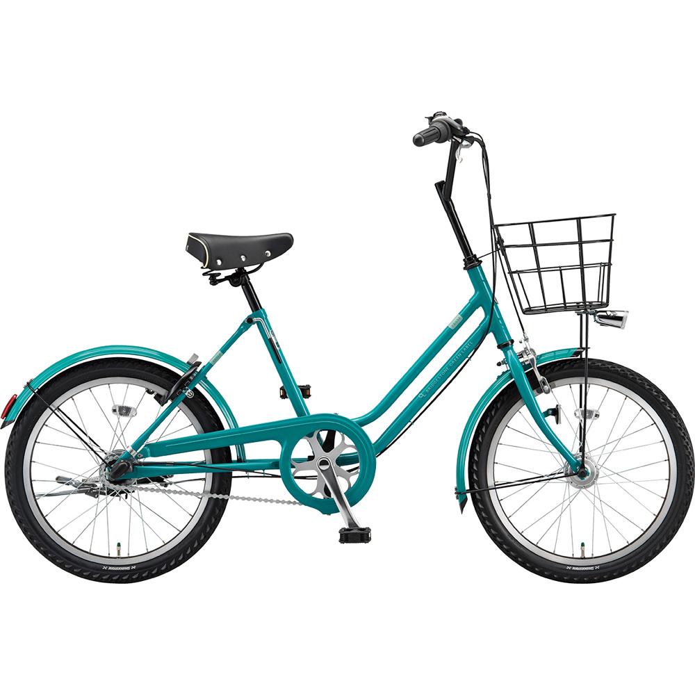 ブリヂストン ミニベロ ベガス VEG03T EXコバルトグリーン 【2019年モデル】【完全組立済自転車】