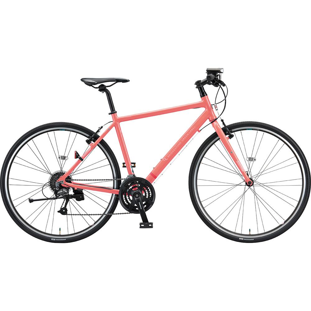 ブリヂストン クロスバイク シルヴァ YF2439 EXアーバンコーラル 390mm 【2019年モデル】【完全組立済自転車】