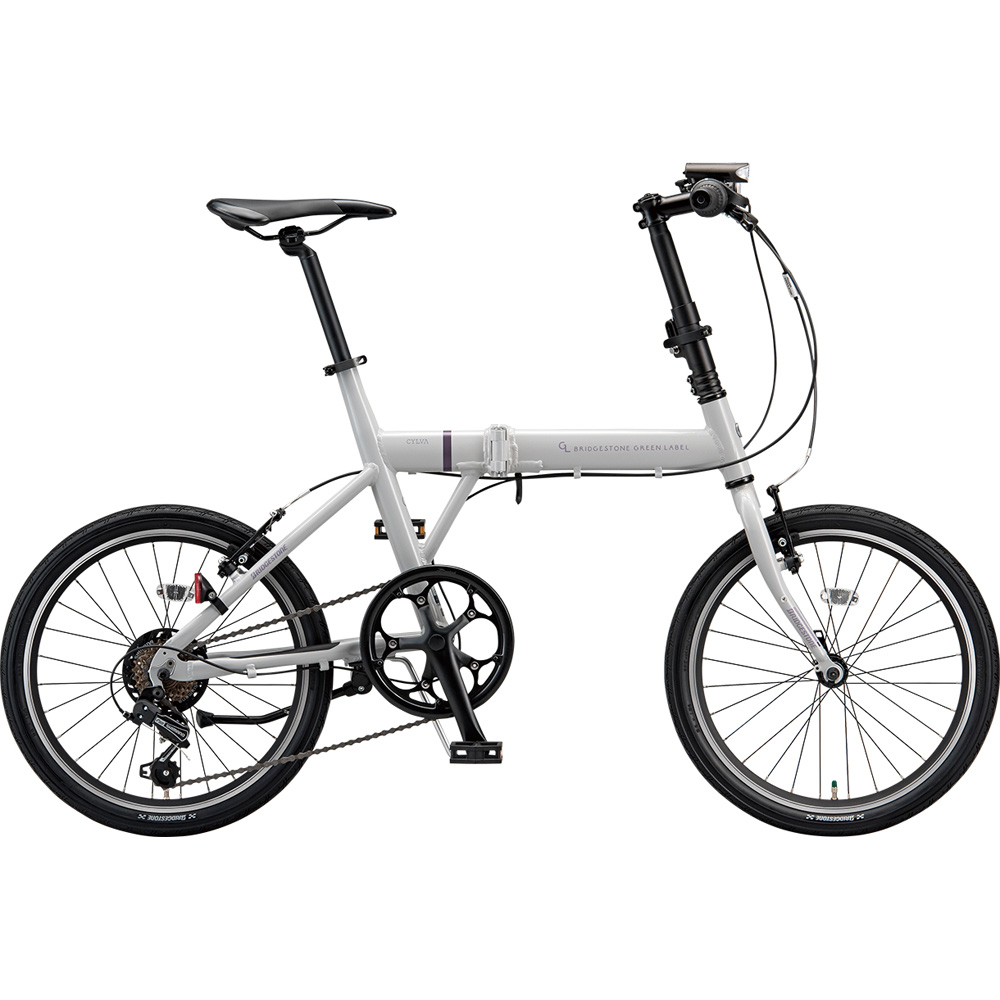 ブリヂストン クロスバイク シルヴァF YF6F20 EXアーバングレー 【2019年モデル】【完全組立済自転車】