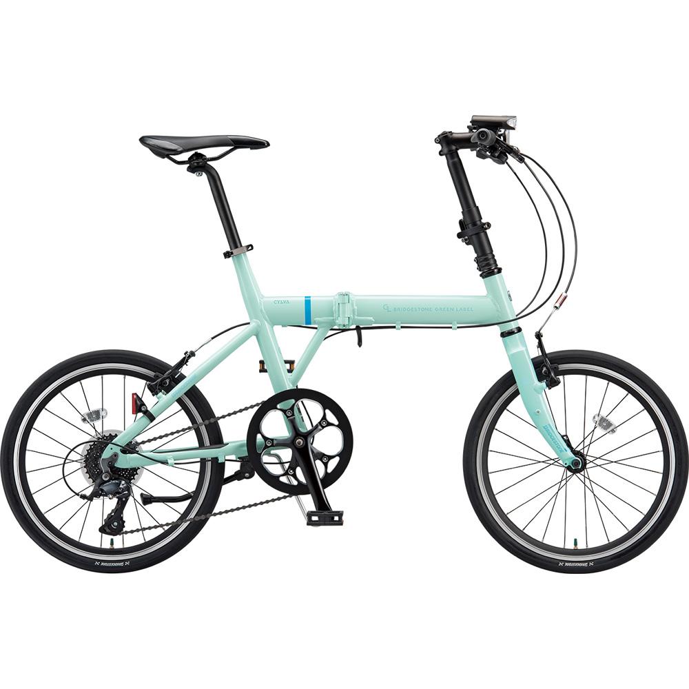 ブリヂストン クロスバイク シルヴァF YF8F20 EXミストグリーン 【2019年モデル】【完全組立済自転車】