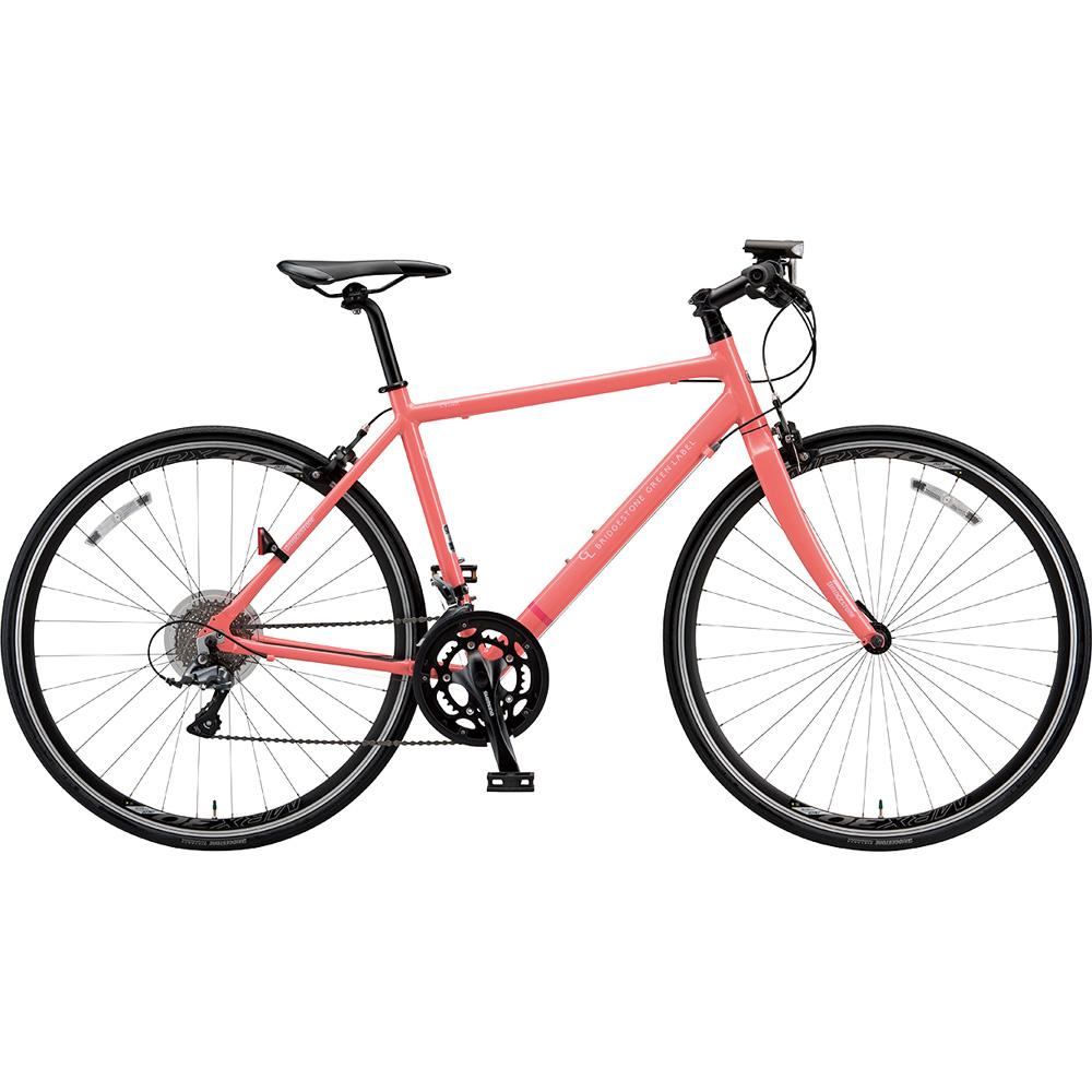 ブリヂストン クロスバイク シルヴァ YR1649 EXアーバンコーラル 490mm 【2019年モデル】【完全組立済自転車】
