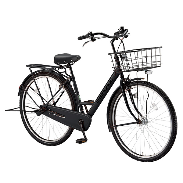 ブリヂストン シティサイクル ステップクルーズ ST60T T.Xクロツヤケシ 26インチ変速なし 【2018年モデル】【完全組立済自転車】