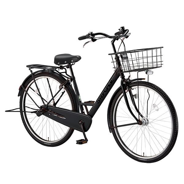 ブリヂストン シティサイクル ステップクルーズ ST73T T.Xクロツヤケシ 3段変速 【2018年モデル】【完全組立済自転車】