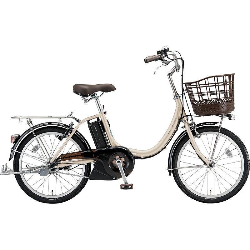 防犯登録付き 流行 美品 当店で登録して発送します 送料無料 ブリヂストン 電動アシスト自転車 アシスタユニ 2020年モデル プレミア 完全組立済自転車 P.Xシーシュルアイボリー A2PC38