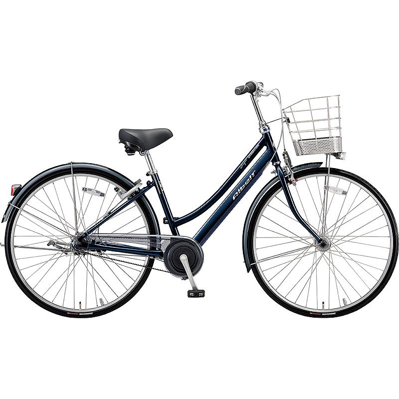 即納可能 防犯登録付き 送料無料 ブリヂストン 自転車 アルベルトロイヤル AR75LT MジュエルDブルー 【2020年モデル】【完全組立済自転車】