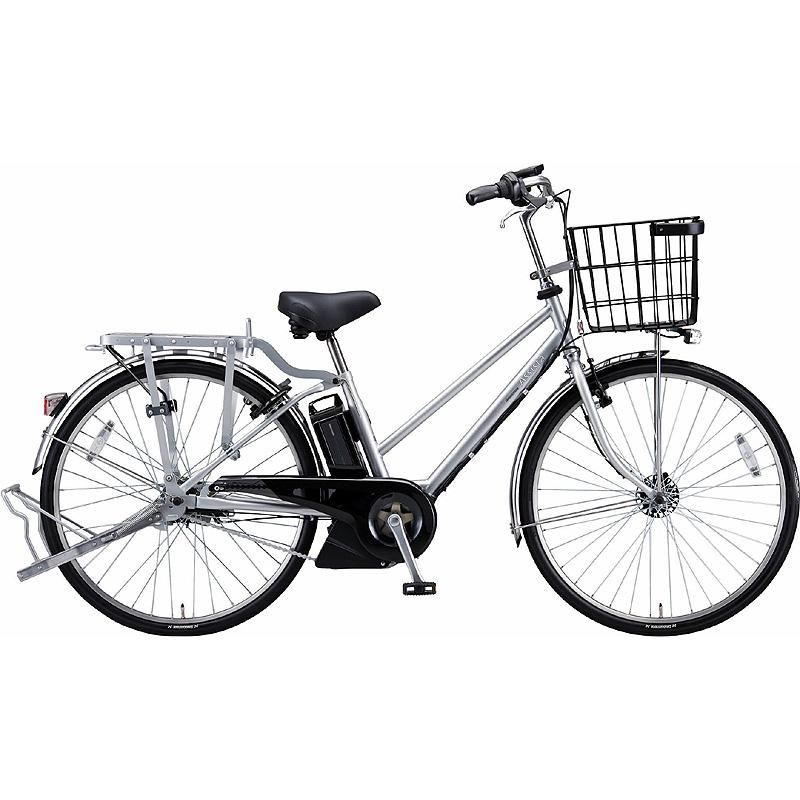 防犯登録付き 送料無料 ブリヂストン 電動アシスト自転車 アシスタビジネス B6SC47 Mファインシルバ- 【2020年モデル】【完全組立済自転車】