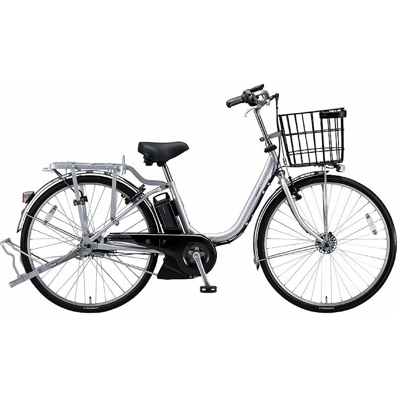 防犯登録付き 送料無料 ブリヂストン 電動アシスト自転車 アシスタビジネス B6UC47 Mファインシルバ- 【2020年モデル】【完全組立済自転車】