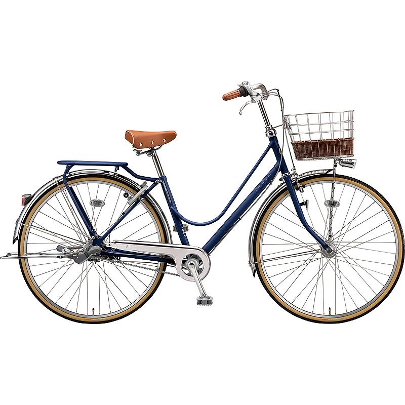 防犯登録付き 送料無料 ブリヂストン 自転車 カジュナ ベ-シック CAB63T E.Xアメリカンブルー 【2020年モデル】【完全組立済自転車】