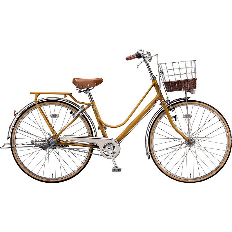 防犯登録付き 送料無料 ブリヂストン 自転車 カジュナ ベ-シック CAB63T E.Xキャラメルブラウン 【2020年モデル】【完全組立済自転車】